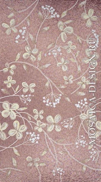 Sicis панно цветы из мозаики Ikebana  ACVT109