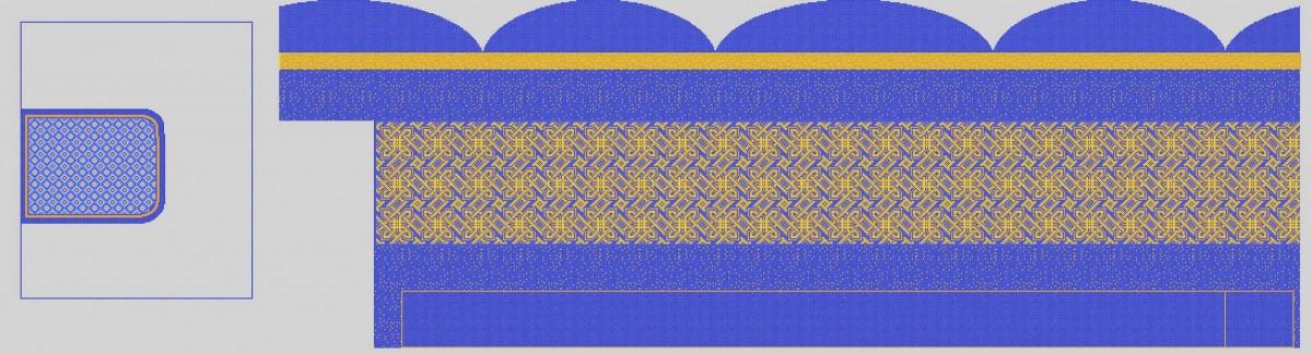 Мозаичное панно для хамама MPX-14