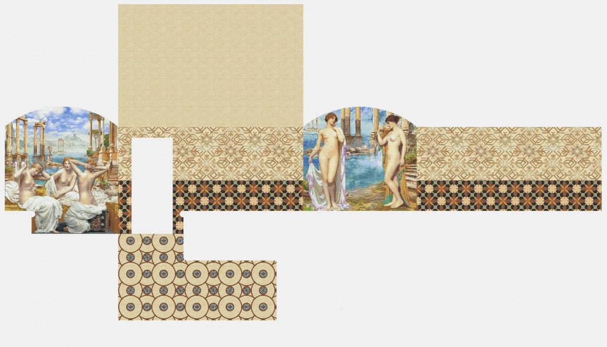 Мозаичное панно для хамама MPX-18