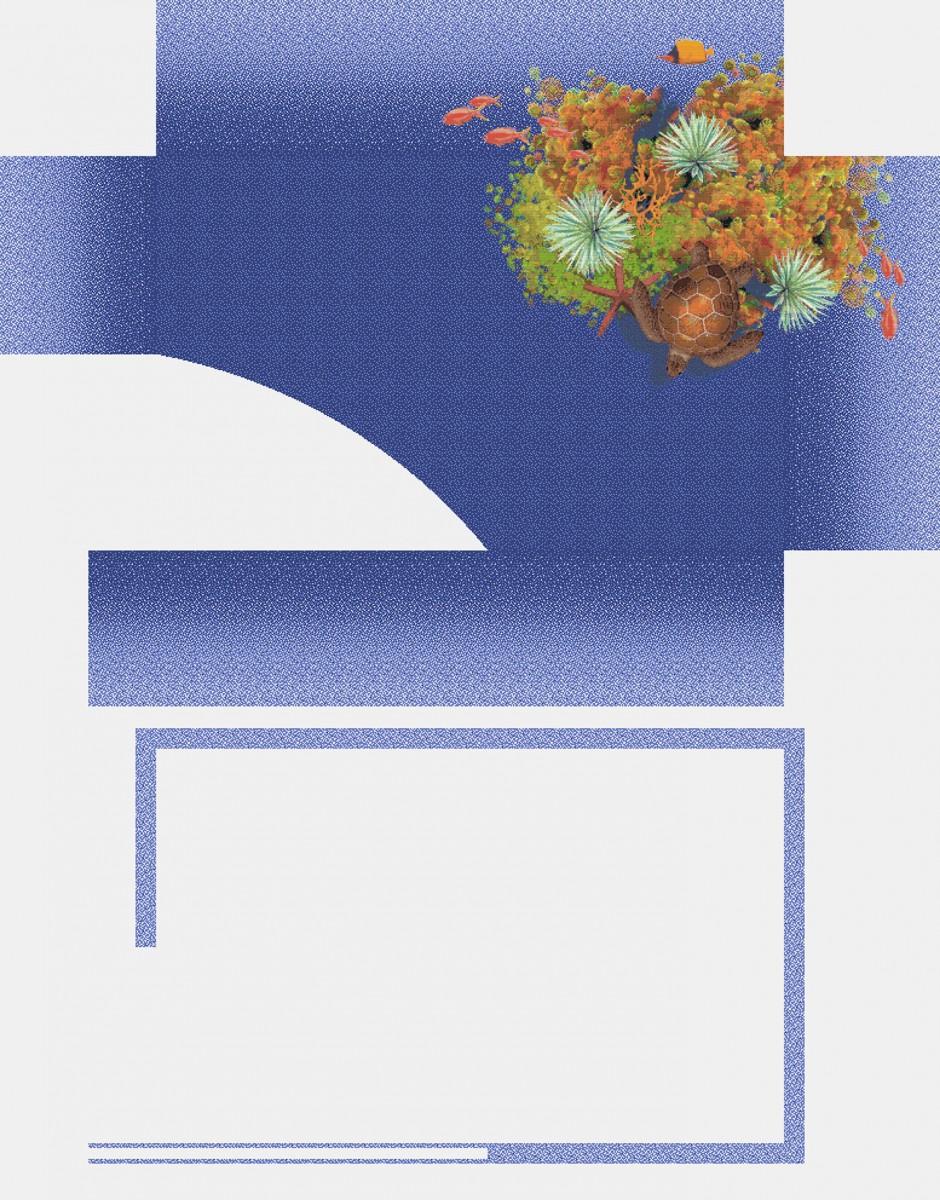 Панно из мозаики для бассейна PMB-12