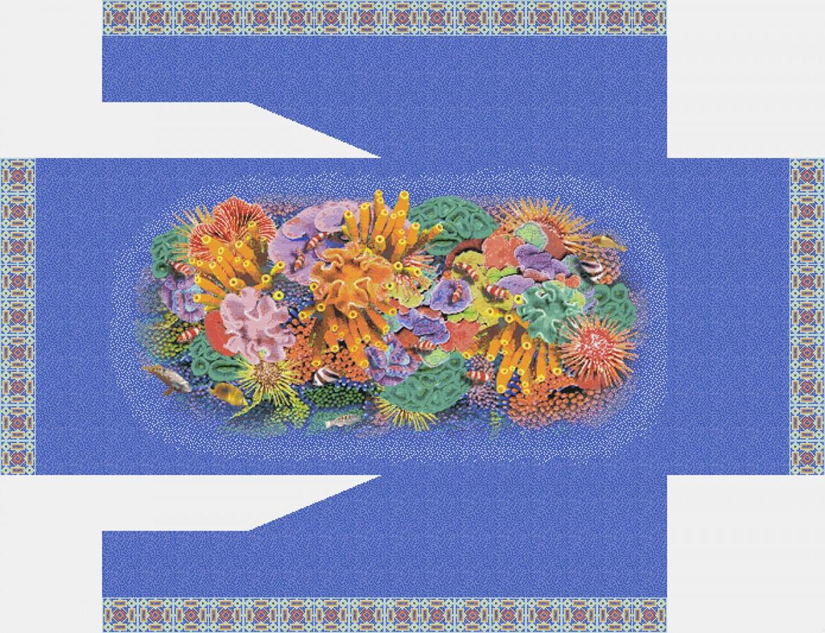 Панно из мозаики для бассейна PMB-16