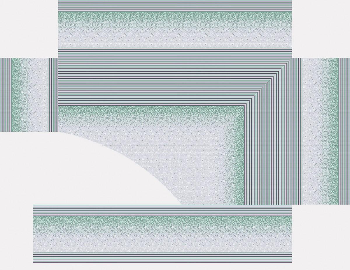 Панно из мозаики для бассейна PMB-17