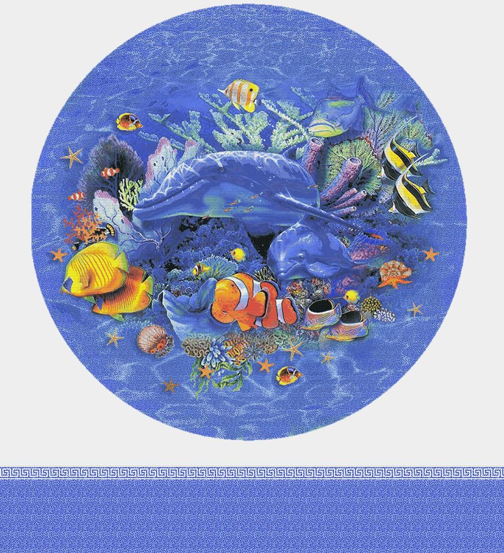 Панно из мозаики для бассейна PMB-18