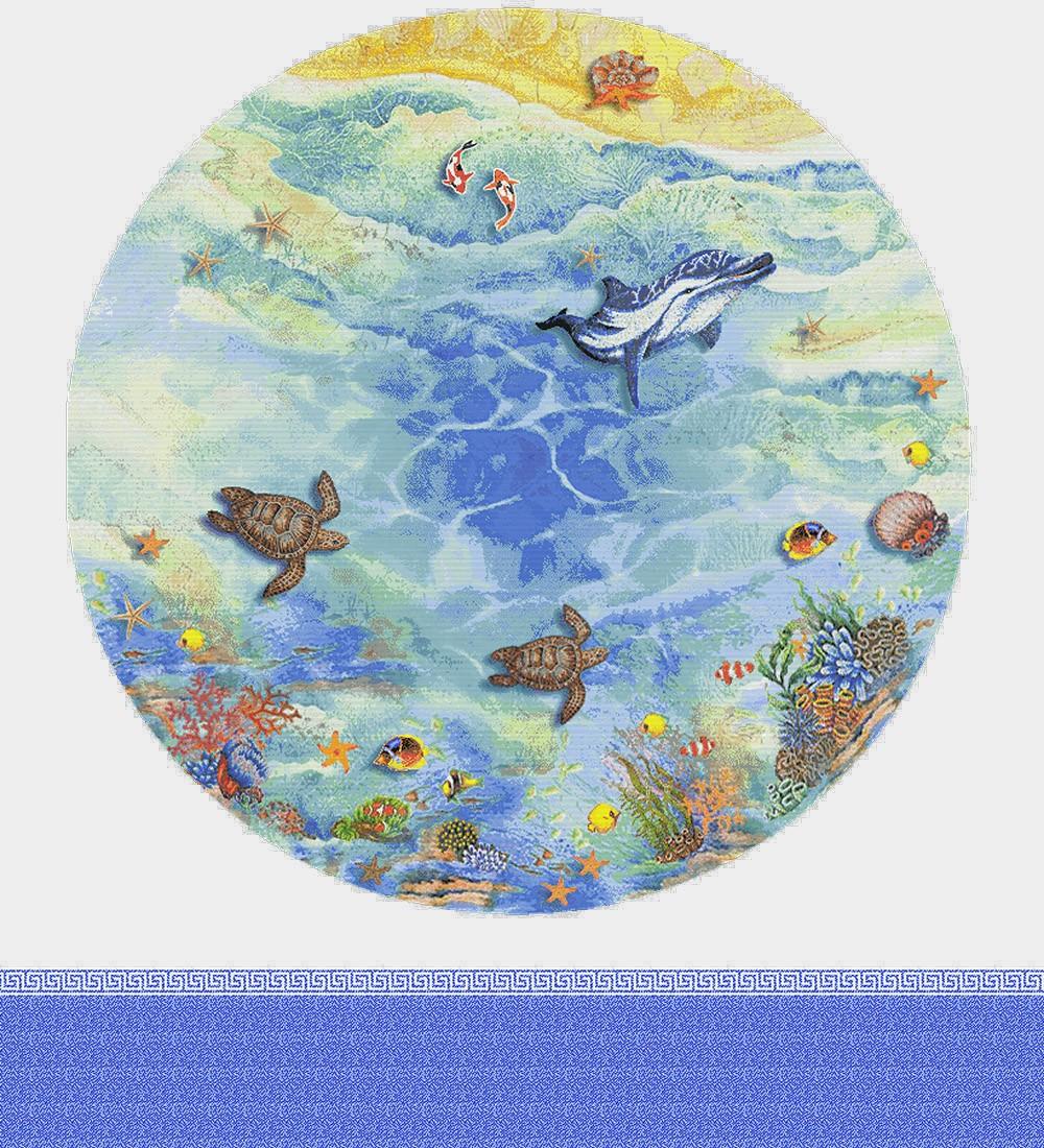 Панно из мозаики для бассейна PMB-20