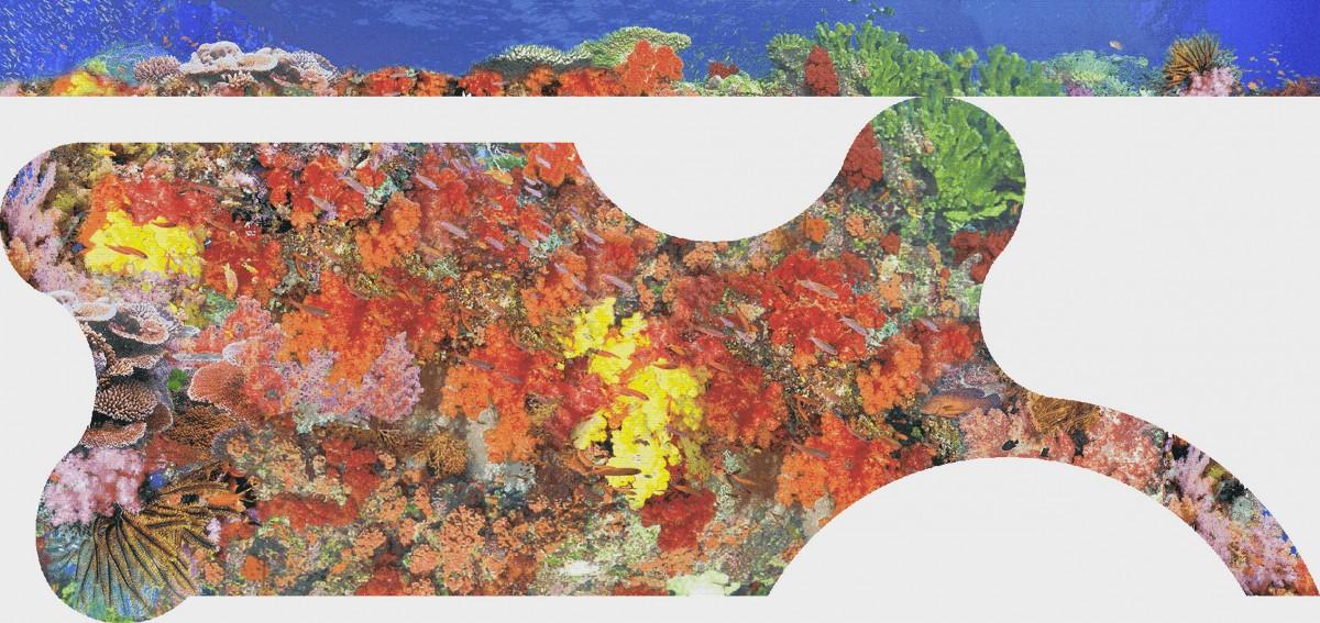 Панно из мозаики для бассейна PMB-84