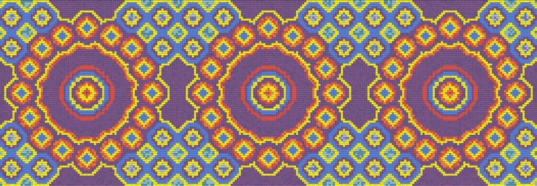 Панно из мозаики для кухни PMK-4