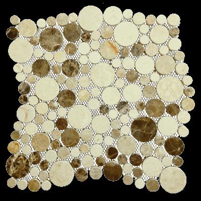 Каменная мозаика Beige miscela