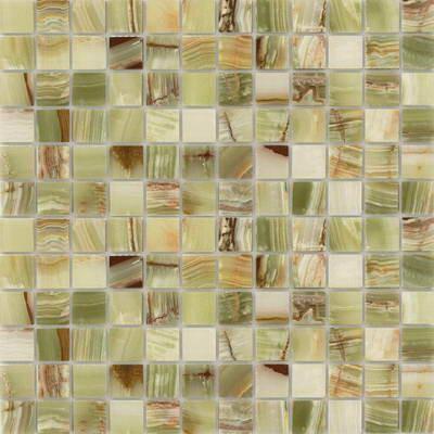 Каменная мозаика Onice Jade Verde 23x23