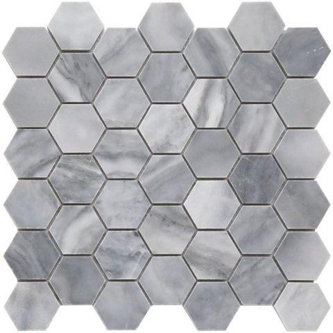 Мозаика на кухне M033-DP (Bardiglio Nuvolato)