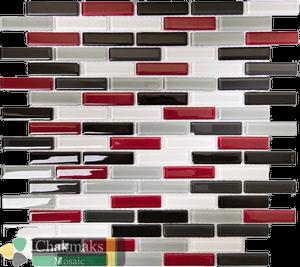 Плитка мозаика для кухни на фартук 15*62 Daisy