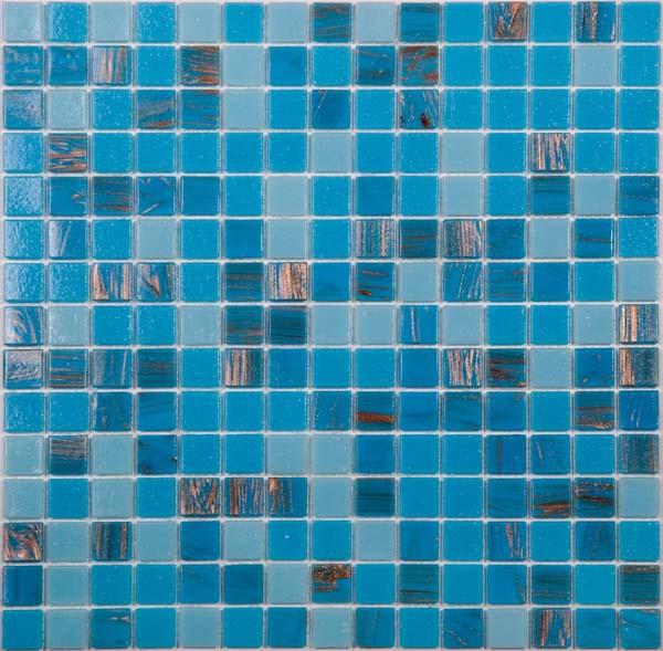 Мозаика для бассейна MIX 18 синий
