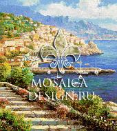 Мозаичное панно из мозаики для ванной ST016