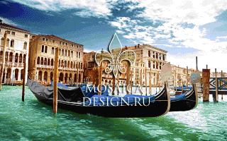 Мозаичное панно из мозаики для ванной ST019