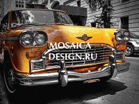 Мозаичное панно из мозаики для прихожей MON066