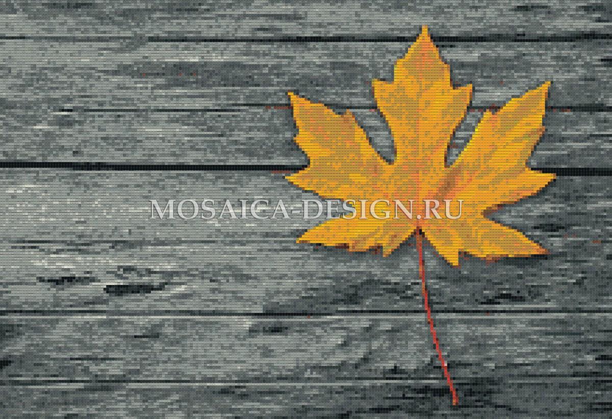 Мозаичное панно из мозаики для гостиной MON070