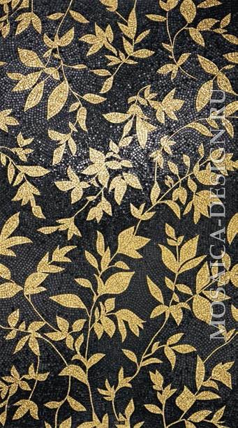 Sicis панно цветы из мозаики Flower power ACVT118