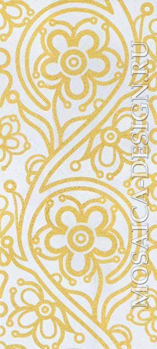 Bisazza панно из мозаики Decorations Flora ACVT167