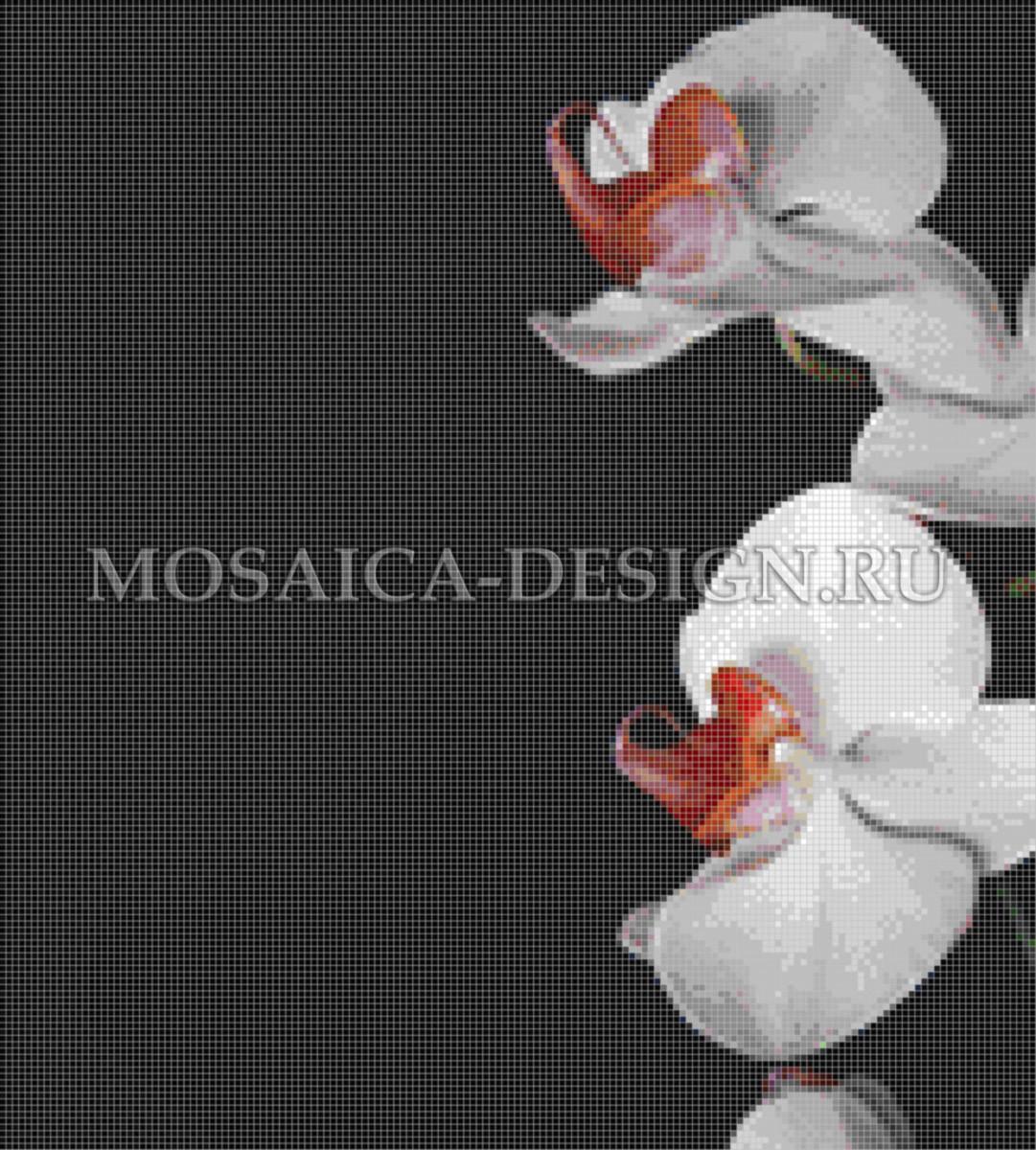 Панно из мозаики для ванной Цветы MCVT074