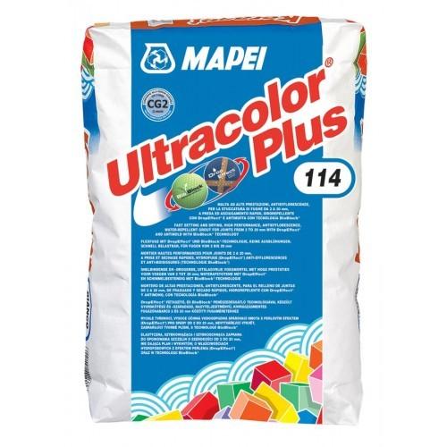 Влагоотталкивающая затирка для мозаики Ultracolor Plus (Ультраколор Плюс) 23 кг